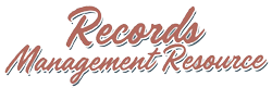 Records Management Resource Logo